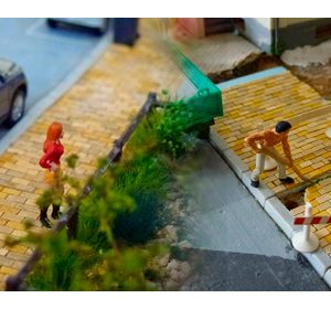Street Pavers-Beige Loose HO Scale Loads 28138